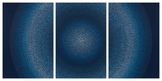 , 'Metamorphosis 8 Triptych,' 2017, Julie Nester Gallery