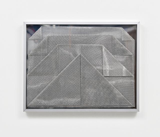 , '»Falt-Relief (Gefaltete Lichtnetze)«,' 1974, Ludorff