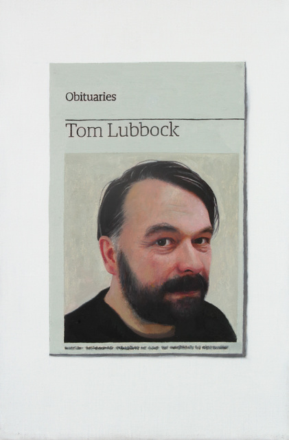 , 'Obituary: Tom Lubbock,' 2011, Charlie Smith London