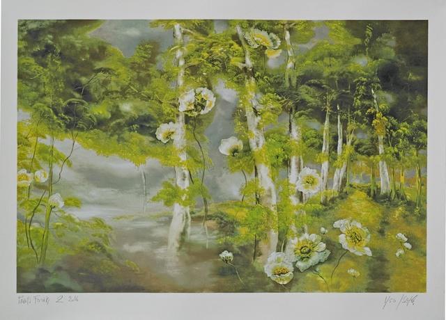 , 'Pavots forêt 2,' 2016, Amy Li Gallery