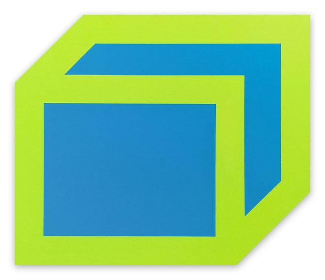 , 'Gong (Green, Blue),' 2016, IdeelArt