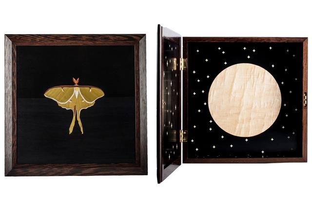 Tom Wessells, 'Luna Moth Cabinet', 2017, Linda Matney Gallery