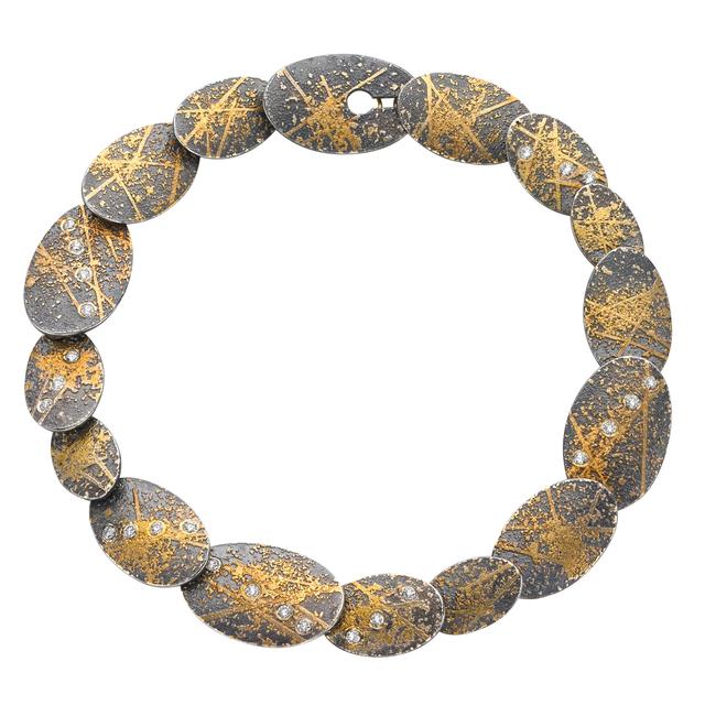 , 'One of a Kind Diamond Oval Link Bracelet,' 2014, Szor Collections