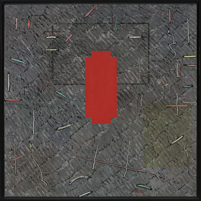 , 'Red Cross for Naomi,' 1980, Zeno X Gallery