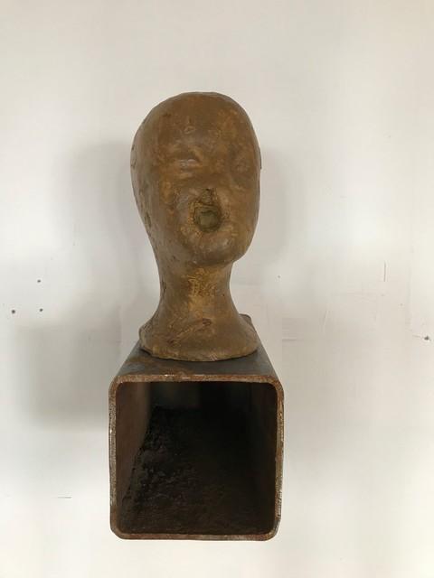 , 'Harlem's head #2,' 2017, Galerie Jocelyn Wolff