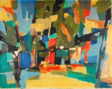 , 'La Clairiere,' 1960, Baterbys Art Gallery