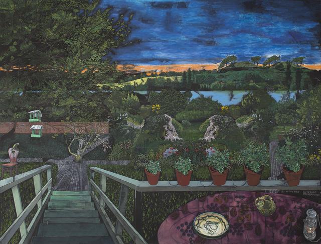 , 'Paradismaleri #I Et øjeblik i Leonard Woolfs have,' 2015, Kunstforeningen GL STRAND