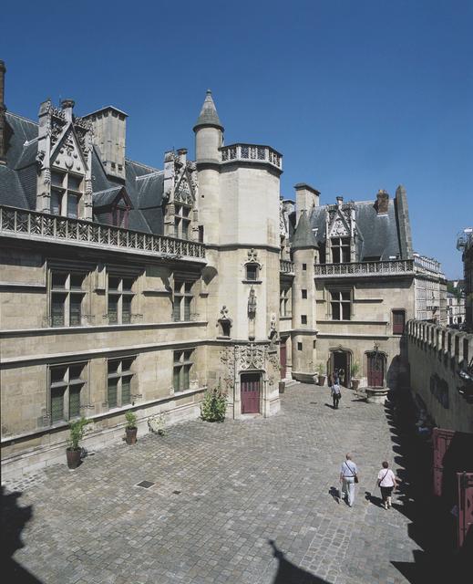 'Musée de Cluny Courtyard', 15th century, Musée de Cluny