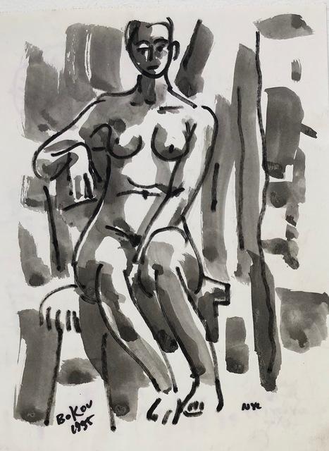 , 'Grey Nude,' 1995, Van Der Plas Gallery