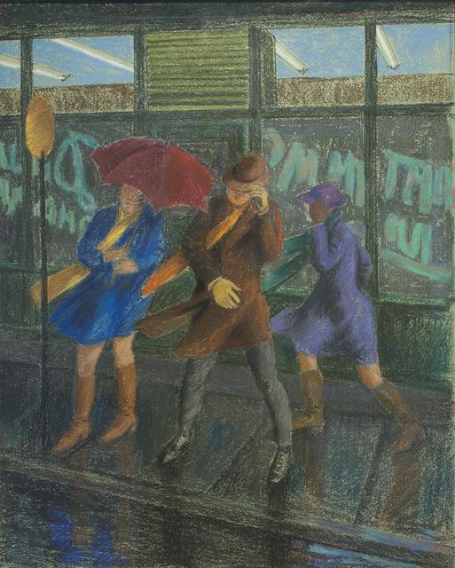 , 'Bus Stop,' , Canadian Fine Arts