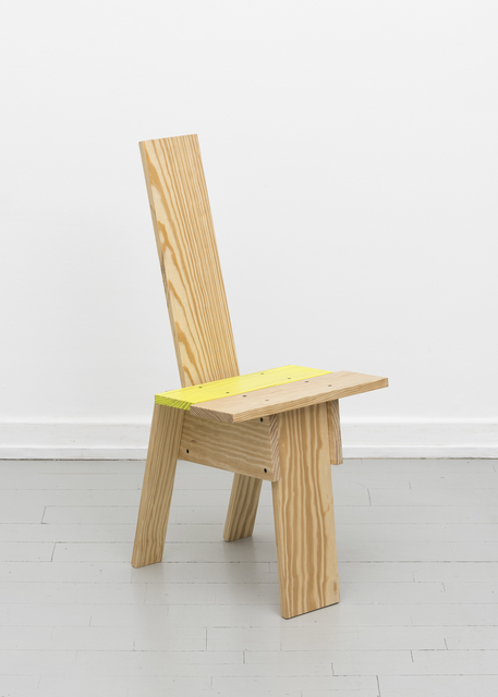 ", '""Planka Amarillo"" Chair,' 2017, Etage Projects"