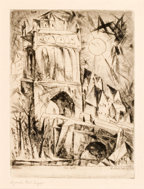 , 'The Gate (Das Tor),' 1912, Moeller Fine Art