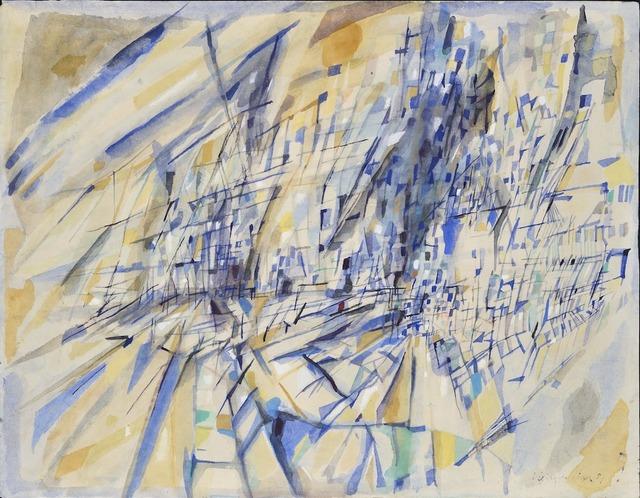 , 'Sans titre,' 1951, Galerie Zlotowski