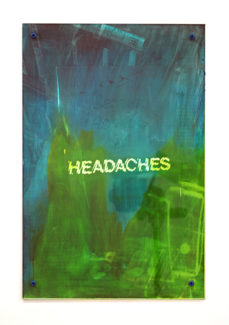 , 'Headaches 4,' 2017, Halsey McKay Gallery