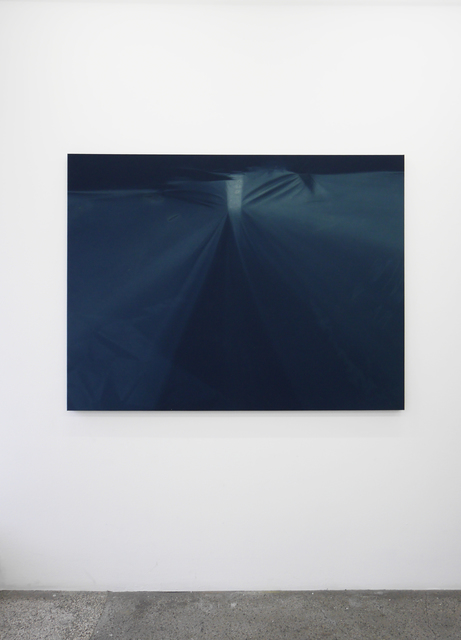 , 'Blue Beam (Oakland Roof Top) 12 Month Exposure. Winter 2013-Winter 2014 ,' 2015, V1 Gallery