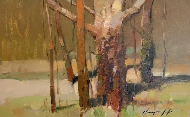 Vahe Yeremyan, 'Red Trees', 2018, Vayer Art
