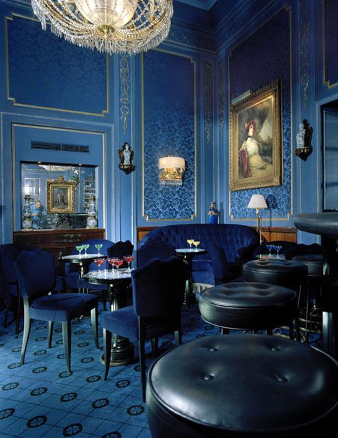 Oliver Mark, 'Blaue Bar, Selbstportrait, Wien', 2005, °CLAIR Galerie