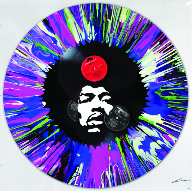 , 'Jimi in a spin,' , Woolff Gallery