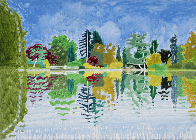 Adrian Berg, 'First Lake, Sheffield Park Gardens, Sussex Weald, 12th & 26th September', 2004, Frestonian Gallery