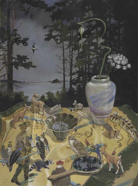 , 'Les Oiseaux du Roy in the Cove,' 2014, Clark Gallery