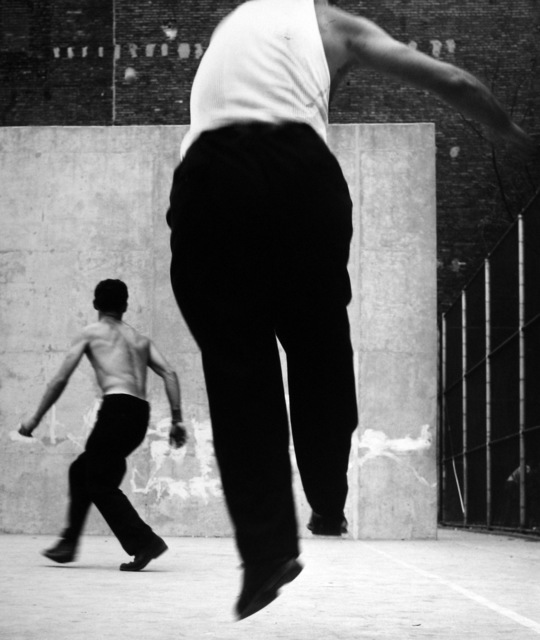 , 'Handball Players, Houston Street, New York,' 1955, GALLERY FIFTY ONE