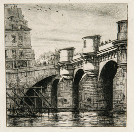 Two Impressions of Le Pont Neuf