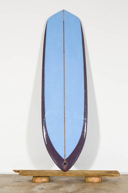 , 'The Shark II (6.6, full displacement, v-bottom, single fin),' 2016, Nina Johnson