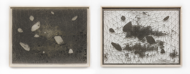 , 'Erosion, Positive / Negative (Rock Cluster #2),' 2017, Tanya Bonakdar Gallery