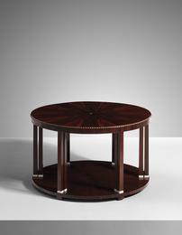 Douze colonnettes' coffee table, model no. 1017NR