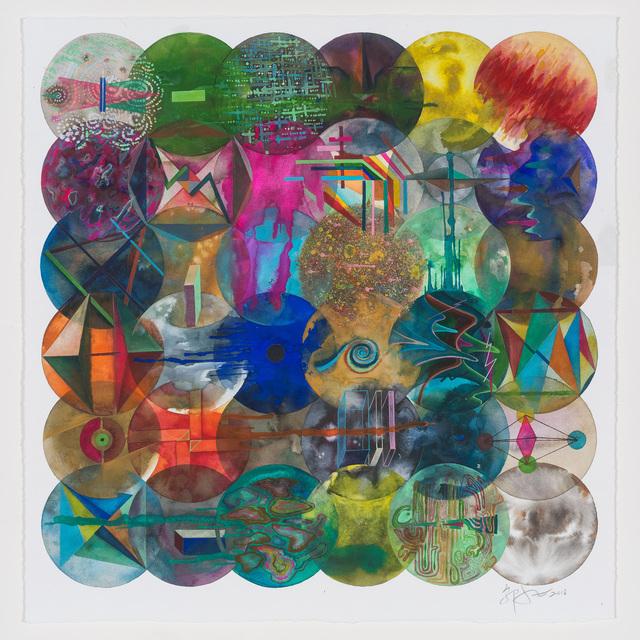 , '36 Color Balls (Curve) 36颗彩色圆球(曲线),' 2018, Chambers Fine Art