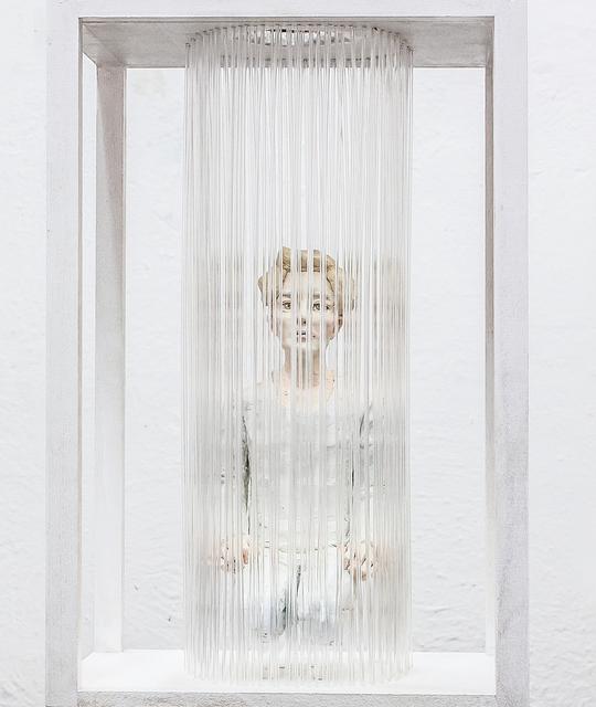, 'utopian (gold),' 2017, galerie burster