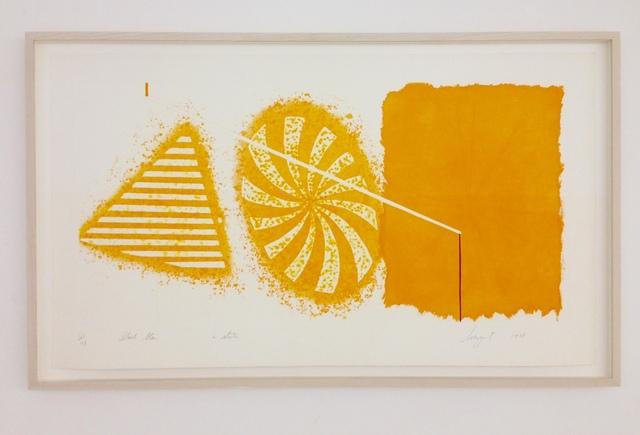 , 'Black Star 2nd State,' 1978, Galerie Klaus Benden