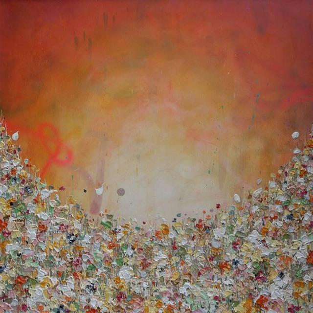 , 'Amber Rise,' 2017, Wychwood Art