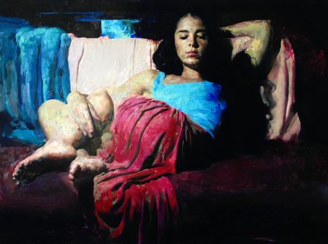 , 'Morgan at Night,' 2016, Sirona Fine Art