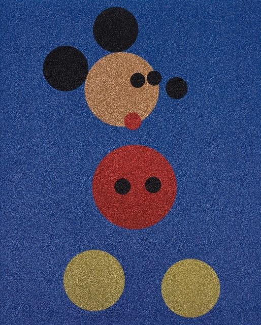 Damien Hirst, 'Mickey (Blue Glitter) ', 2016, Fine Art Mia