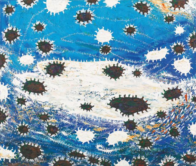 Gunter Damisch, 'Weltmeer II', 2007/2008, Galerie Kovacek & Zetter