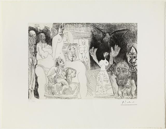 Pablo Picasso, 'Suite 156 / 156 Series', 1970-1972, Print, 153 prints, artist's proof, Galería Daniel Cardani