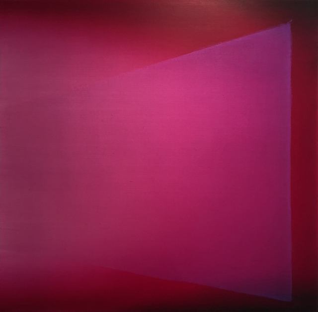 , 'Magenta Wedge,' 2018, Allouche Gallery
