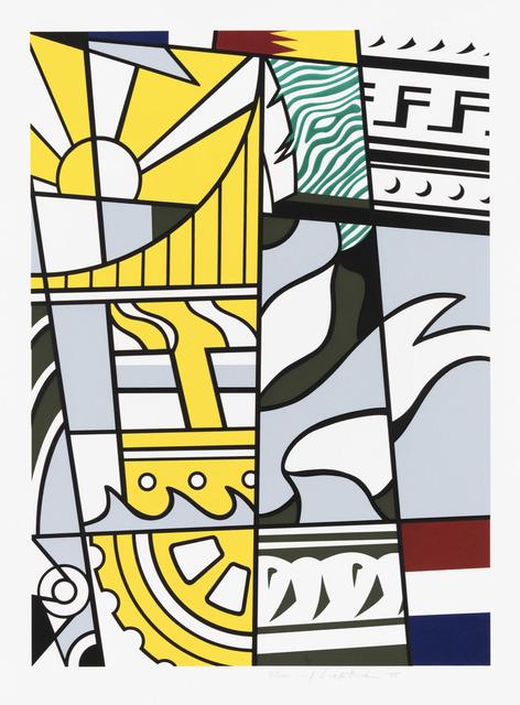 Roy Lichtenstein, 'Bicentennial Print', 1975, Galerie d'Orsay