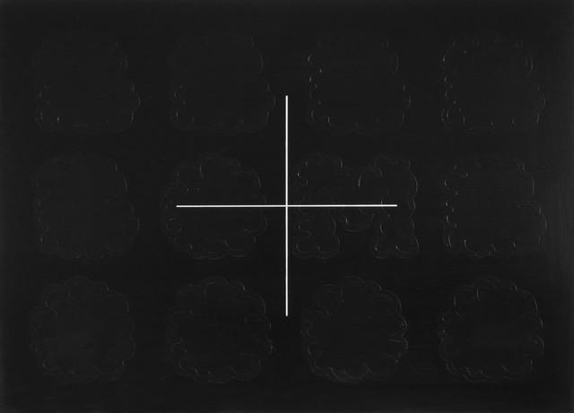 , '+,' 2018, Alfa Gallery