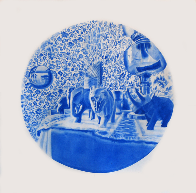 , 'Peephole #3,' 2017, Galleri Flach