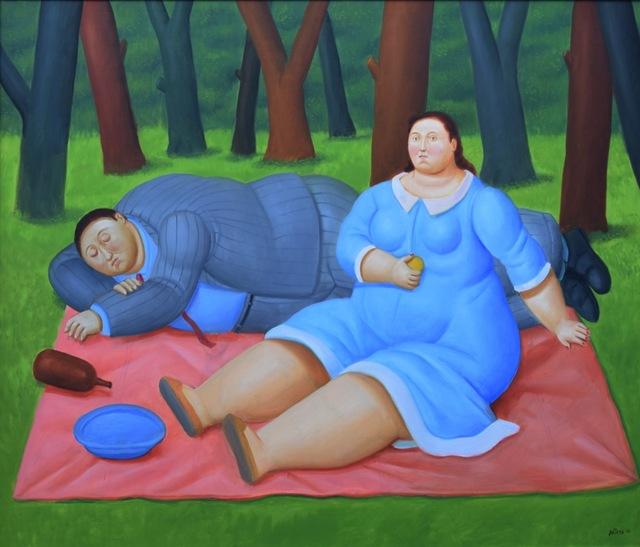 Fernando Botero, 'Colazione sull'erba', 2016, Barbara Paci Art Gallery
