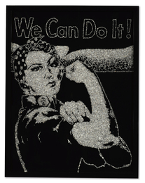 Vik Muniz, 'Rosie the Riveter (from Pictures of Diamonds),' 2004, Sotheby's: Contemporary Art Day Auction