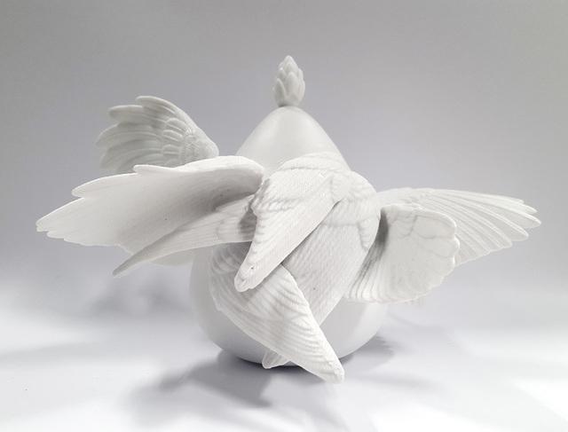 Ruth Ju-Shih Li, 'White Fruit IX', 2018, Sculpture, Porcelain, MAY SPACE