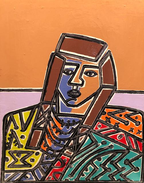 America Martin, 'Man with Blanket',  , JoAnne Artman Gallery