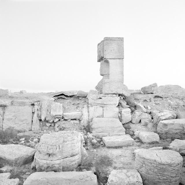 , 'Necropolis, Palmyra,' 2010, Gallery Luisotti