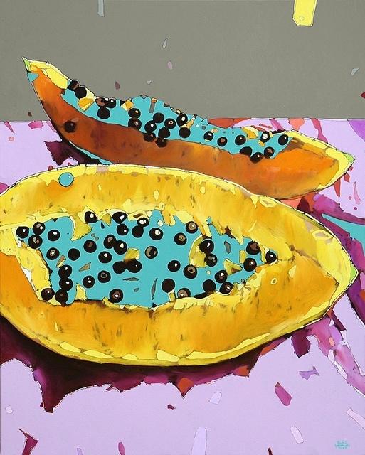 , 'Papaya,' 2017, Gallery Katarzyna Napiorkowska | Warsaw & Brussels