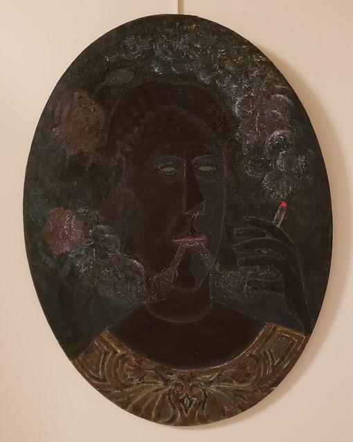 Rodolfo Morales, 'The Smoker', 1982, Maximilian Contemporary