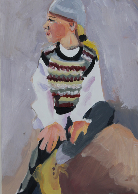 Chantal Joffe, 'Pull-over', ca. 1995, Castlegate House Gallery
