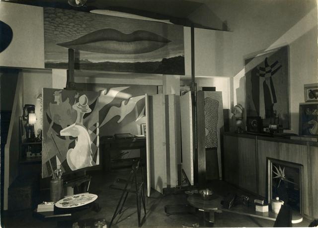 , 'Studio at 40 rue Denfert Rochereau ,' ca. 1939, Bruce Silverstein Gallery